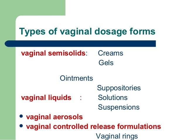 Vaginal absorption