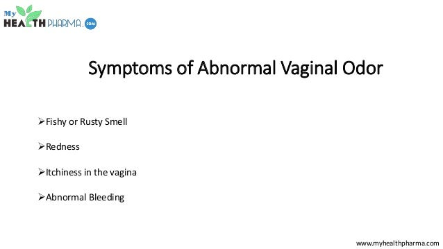 What causes vagina to smell