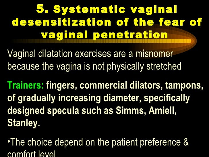 Rapid vaginal penetration