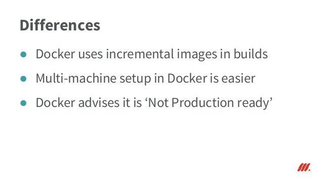 Virtualisation - Vagrant and Docker