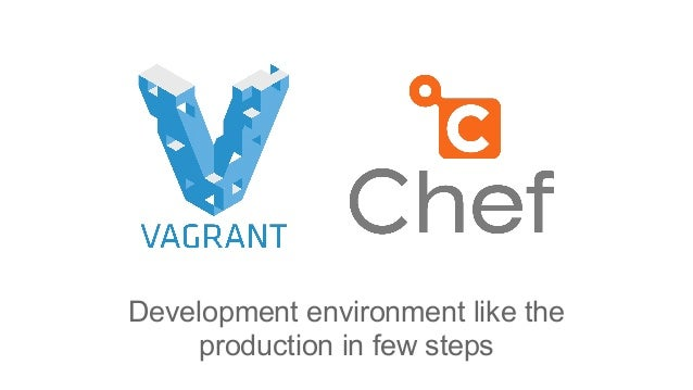 Development environment like the production in few steps