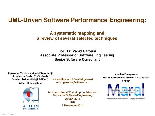 UML-Driven Software Performance Engineering: A systematic