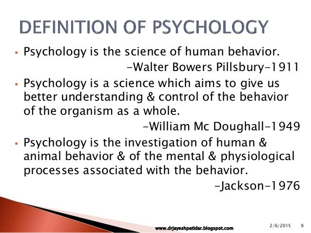 the discipline of psychology While the psychology of today reflects the discipline's rich and varied history, the origins of psychology differ significantly from contemporary conceptions of the field.