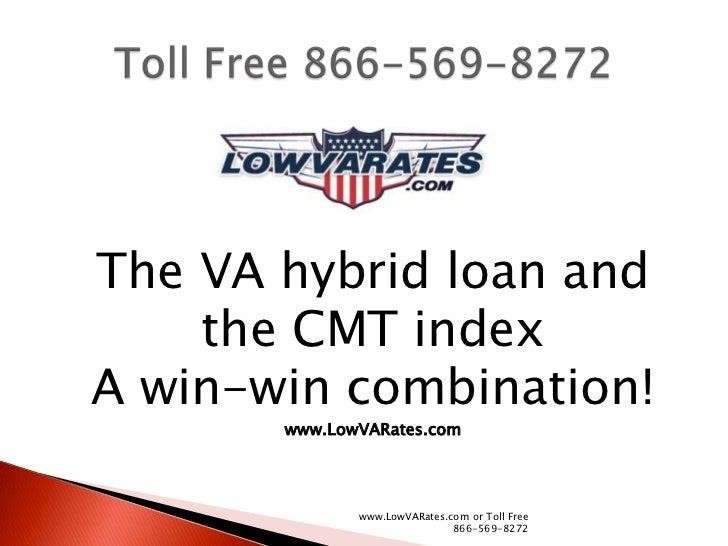 Va Hybrid Loan & The Cmt Index