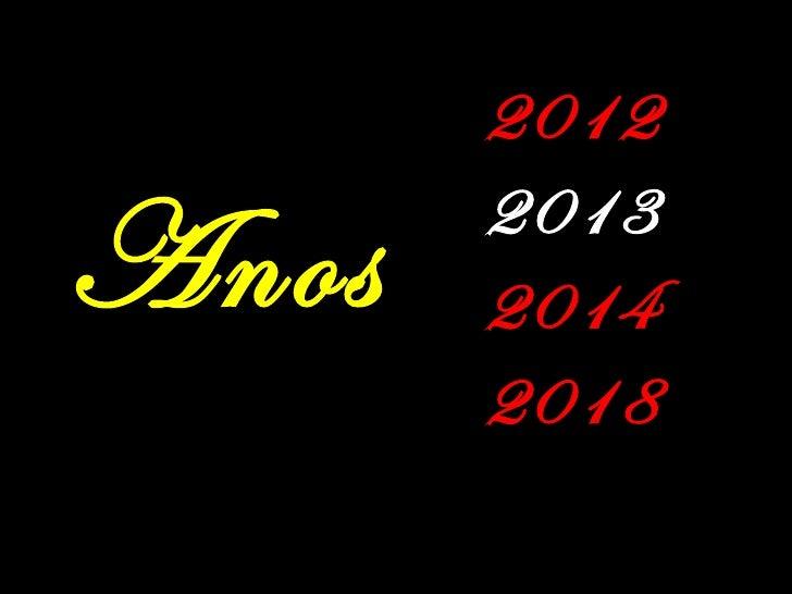 2012       2013Anos   2014       2018