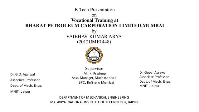 case study gd for bpcl
