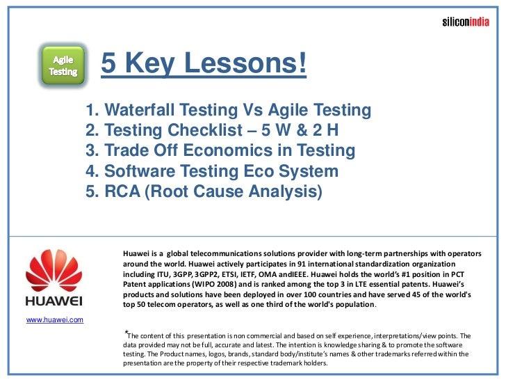 Vaidyanathan Ramalingam Agile Testing Leadership Lessons Softec 2 July2011 Slide 2