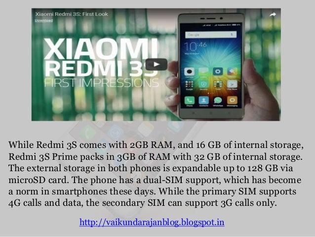 Vaikundarajan Reviews Xiaomi Redmi 3S