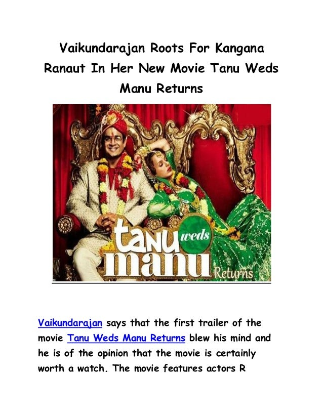 tanu weds manu returns ending relationship