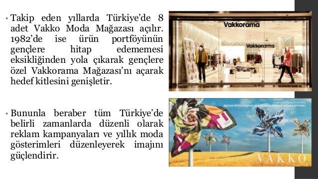 • Takip eden yıllarda Türkiye'de 8  adet Vakko Moda Mağazası açılır.  1982'de ise ürün portföyünün  gençlere hitap edememe...
