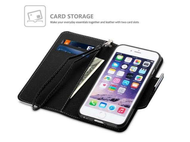 Produktmerkmale iPhone 6/6S Ledertasche: Foliostyle Brieftasche Tasche mit Magnetverschluss Display PU Leder Material mit ...
