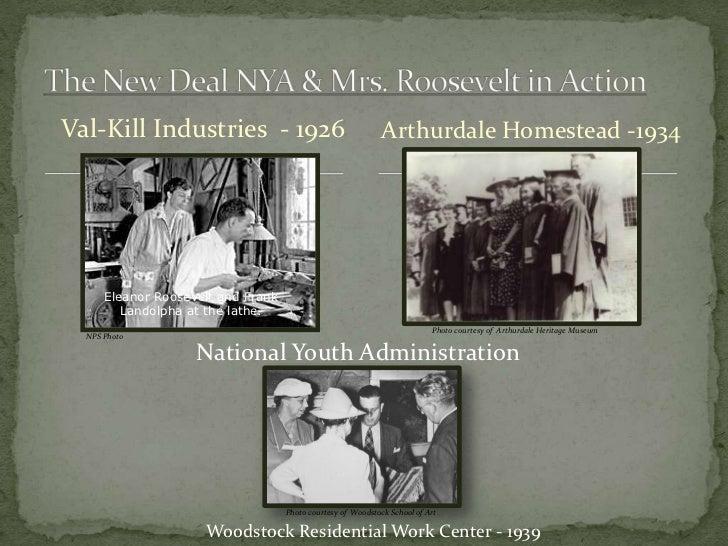 Val-Kill Industries - 1926                                    Arthurdale Homestead -1934      Eleanor Roosevelt and Frank ...