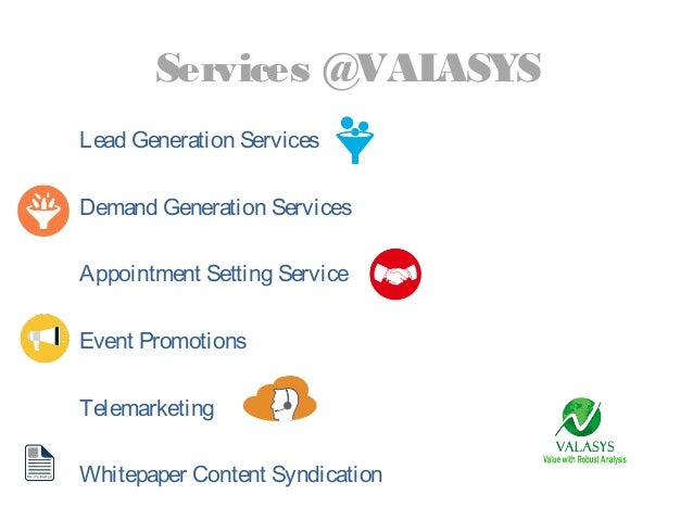 Valasys Business Solutions Slide 3
