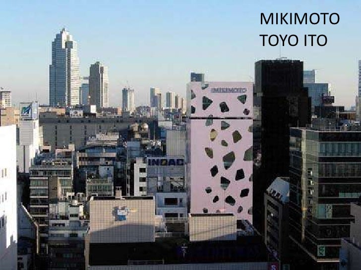 MIKIMOTO <br />TOYO ITO<br />