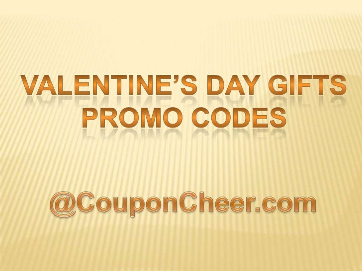 Valentines day gifts promo codes - Code promo paul valentine ...
