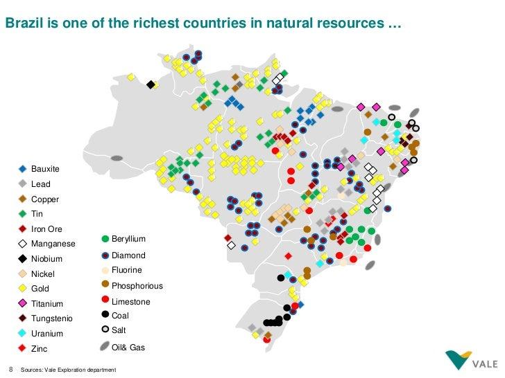 Vale A Global Strategic Partner - Natural resources of brazil