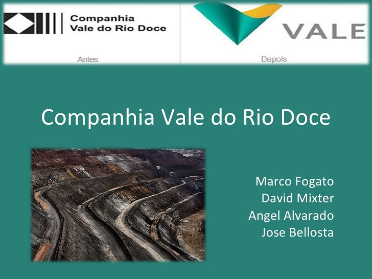 Ipo vale do rio doce