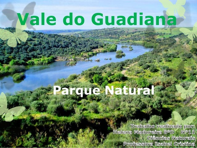 Vale do Guadiana Parque Natural