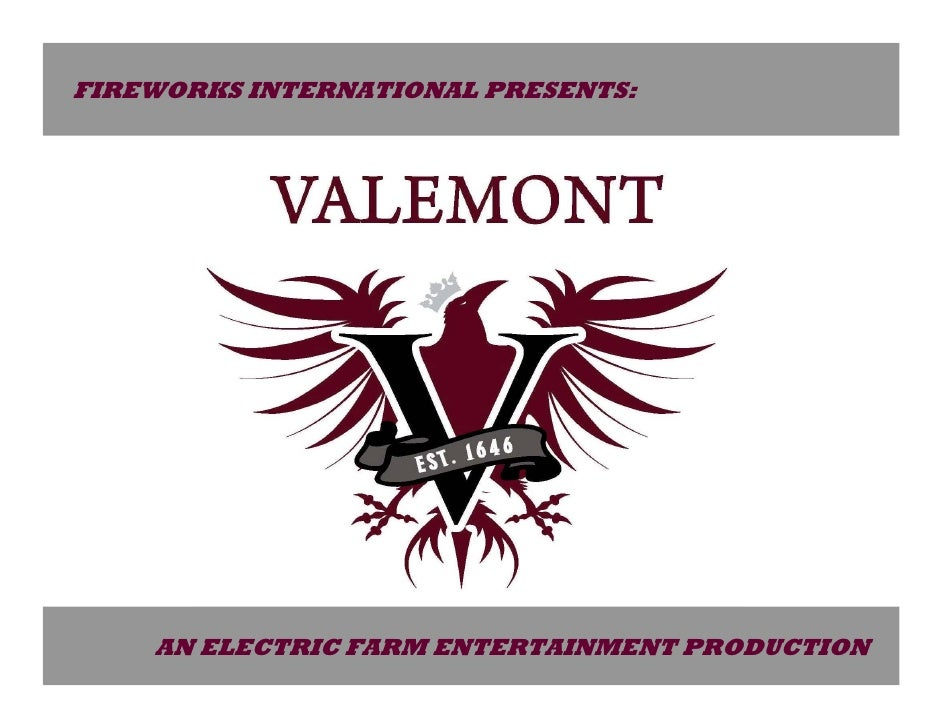 FIREWORKS INTERNATIONAL PRESENTS:         AN ELECTRIC FARM ENTERTAINMENT PRODUCTION