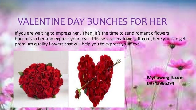 send valentine's day flowers to india - myflowergift, Ideas