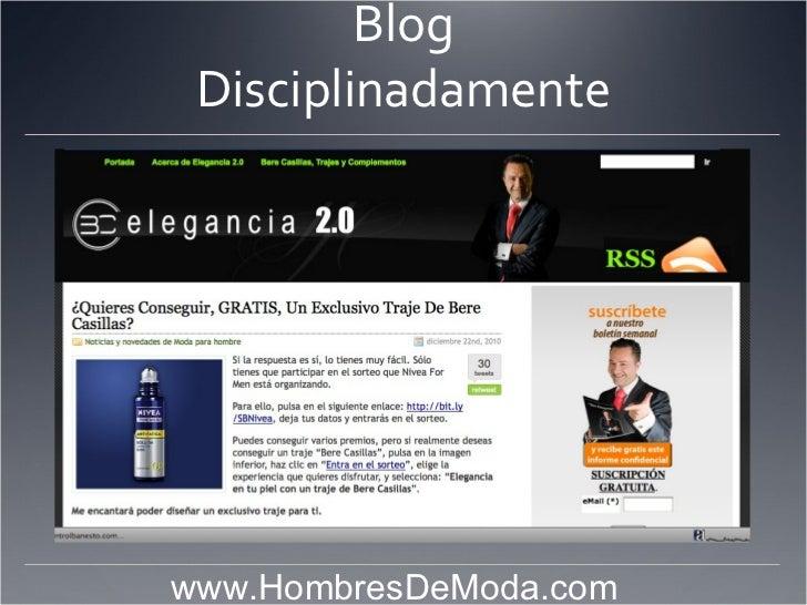 Blog Disciplinadamente                            www.HombresDeModa.com