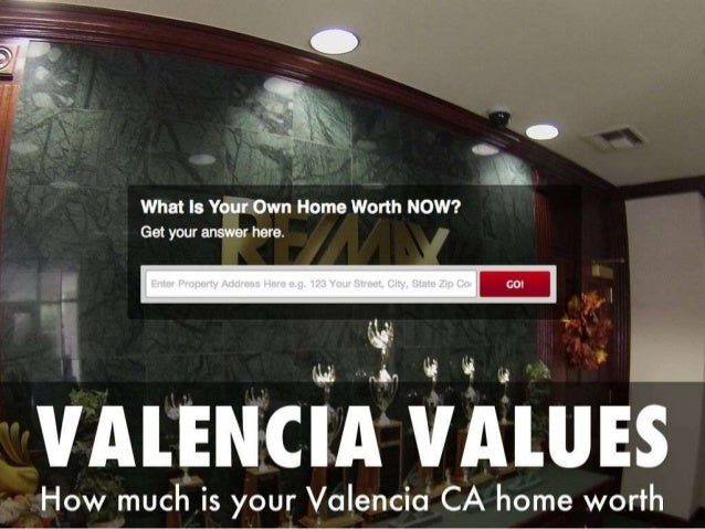 Valencia California Home Values and Market Data - The BEST Search Engine available