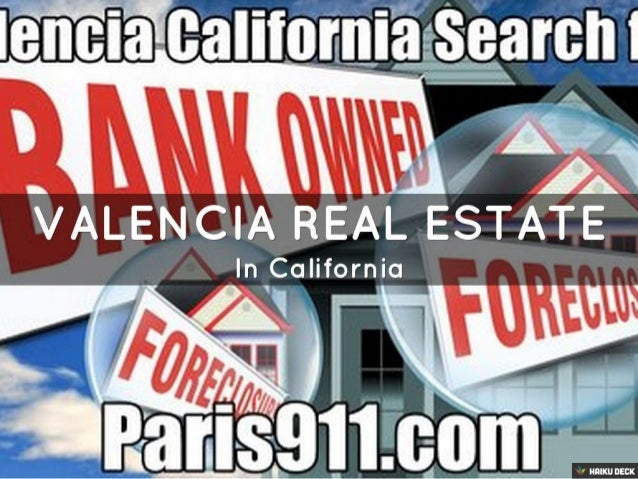 Valencia real estate