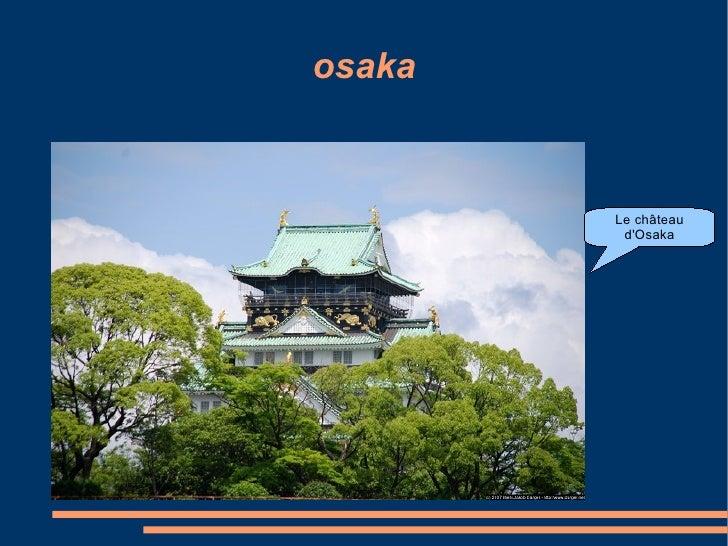 osaka Le château d'Osaka