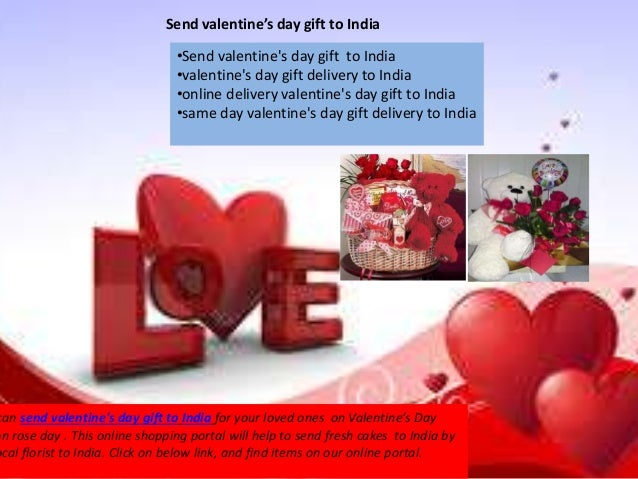 send valentine day gifts to india, Ideas