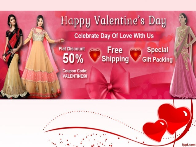 valentine day's gift discount sale flat 50 percente off on women clot…, Ideas