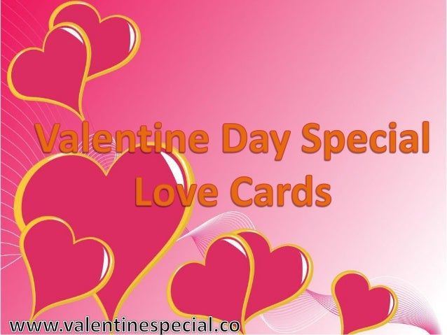 Day Special Love Cards