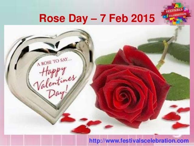 Valentine Week 2015 List Dates Schedule