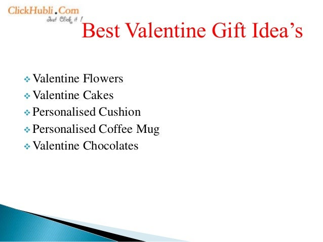 Choose best gift for your valentine from our top gift idea's Slide 3