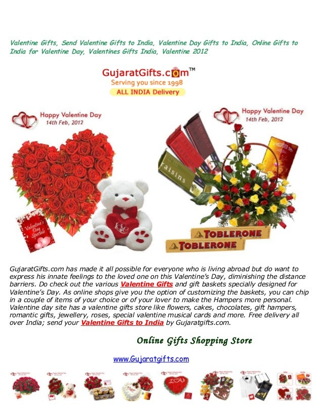 Valentine Gifts, Send Valentine Gifts to India, Valentine Day Gifts to India, Online Gifts to India for Valentine Day, Val...