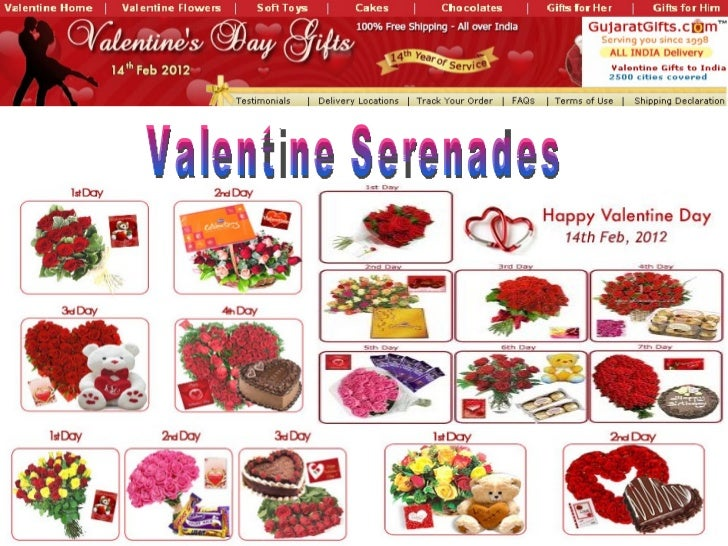 Valentine shopping online india