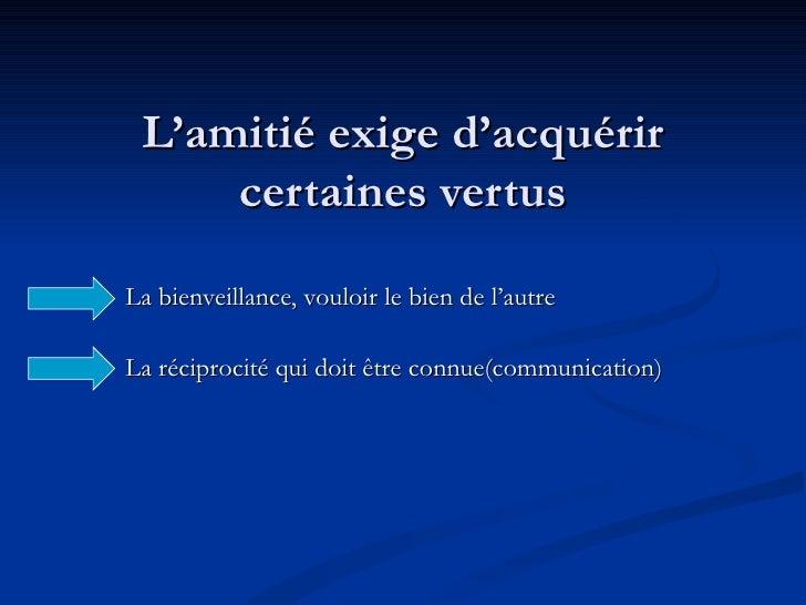 Valentine Le B.  L'Amitie Slide 3