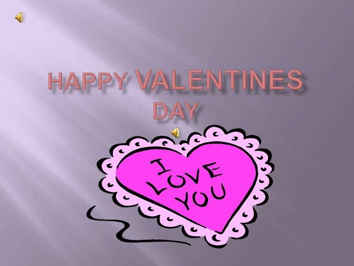 Happy Valentinesday <br />