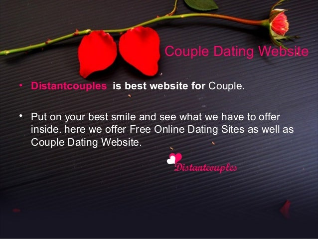 Online dating for couples