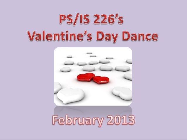 Valentines dance 2013