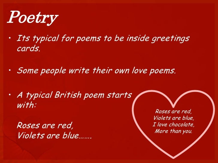 poetry - Love Poems For Valentines Day