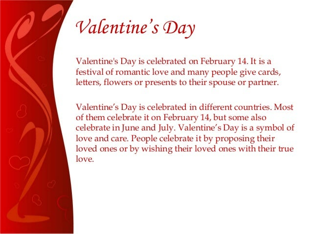 valentine's day significance and meaning, Ideas