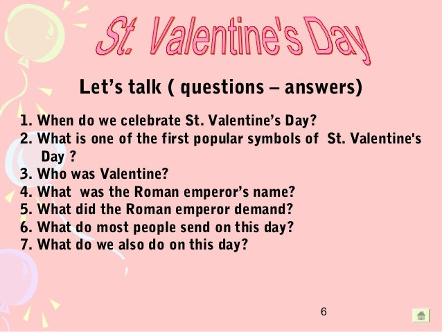 6 - Why Valentine Day Is Celebrated