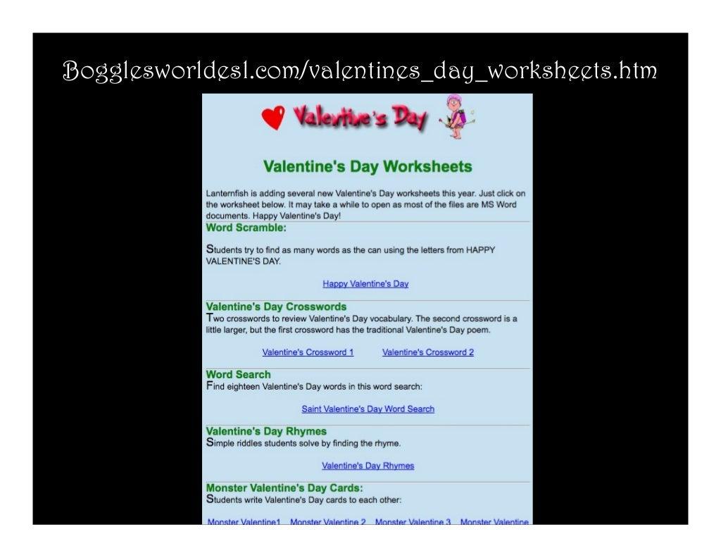 Bogglesworldesl.com/valentines_day_worksheets.htm