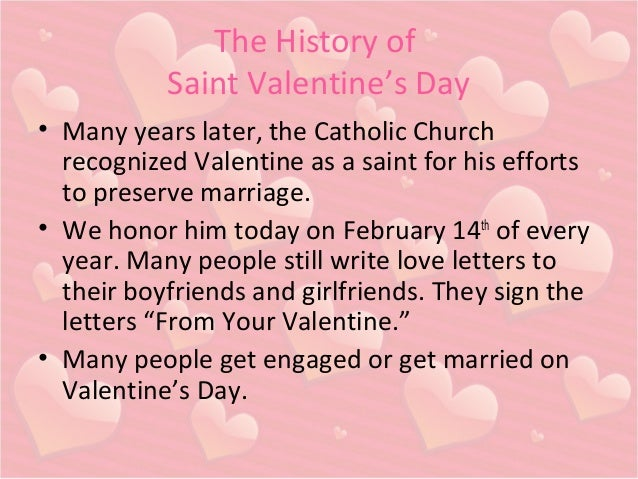 3. The History Of Saint Valentineu0027s Day ...