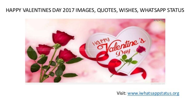 Happy Valentines Day 2017 Images Quotes Sms Whatsapp Status