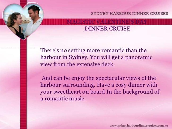 Valentines Day Cruise Sydney Harbour