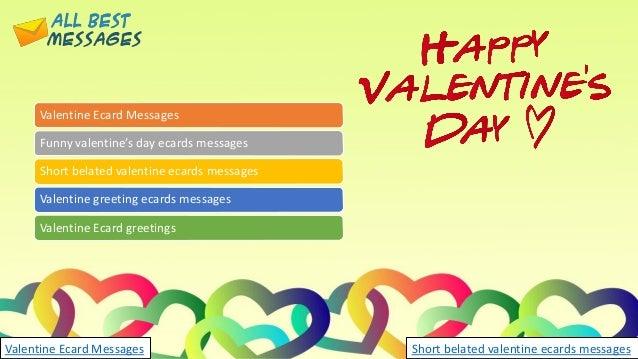 Valentines day ecards short belated valentine ecards messages valentine ecard messages funny valentines day m4hsunfo