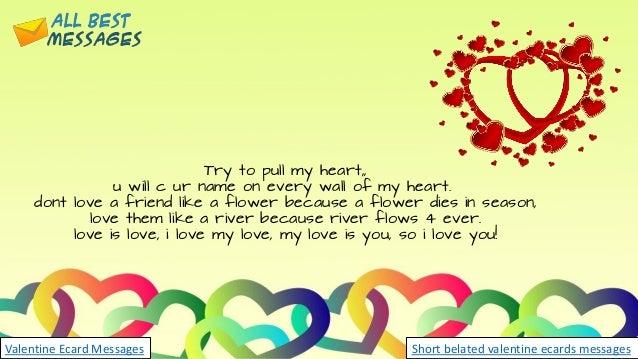 Valentines day ecards short belated valentine ecards messages valentine ecards messages 5 m4hsunfo