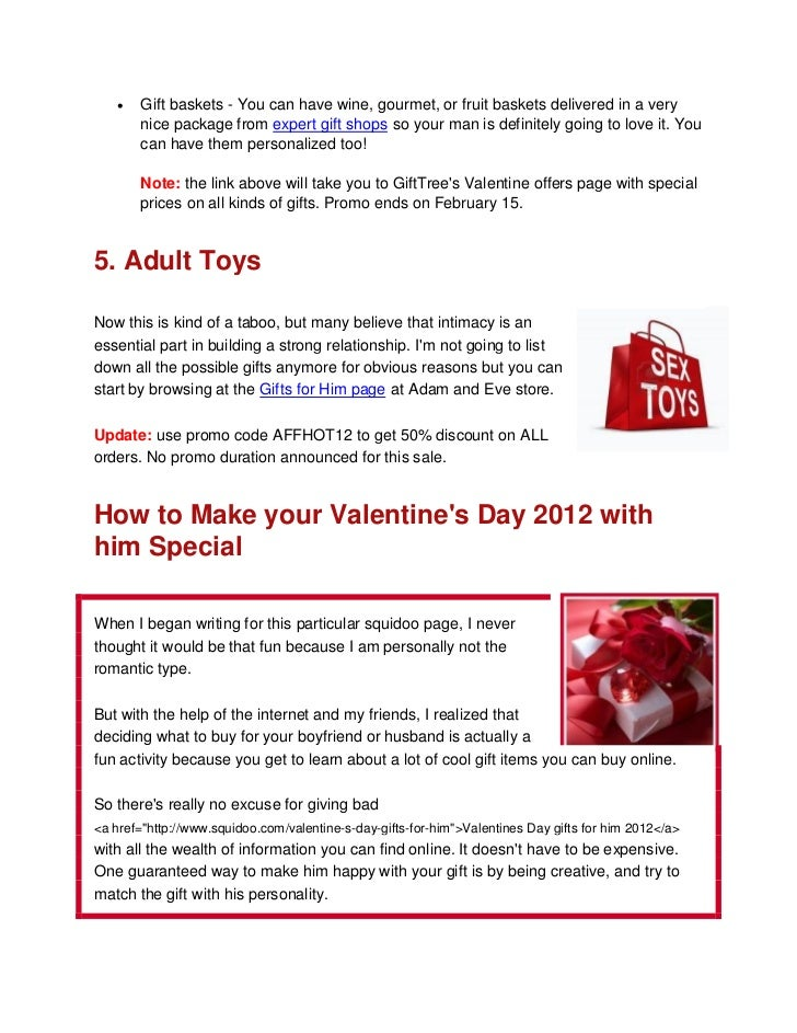 Valentine S Day Gifts For Him 2012 Uk
