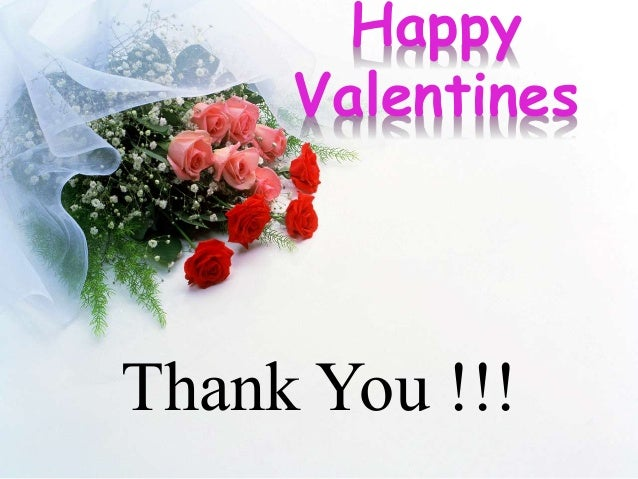 valentines thank you